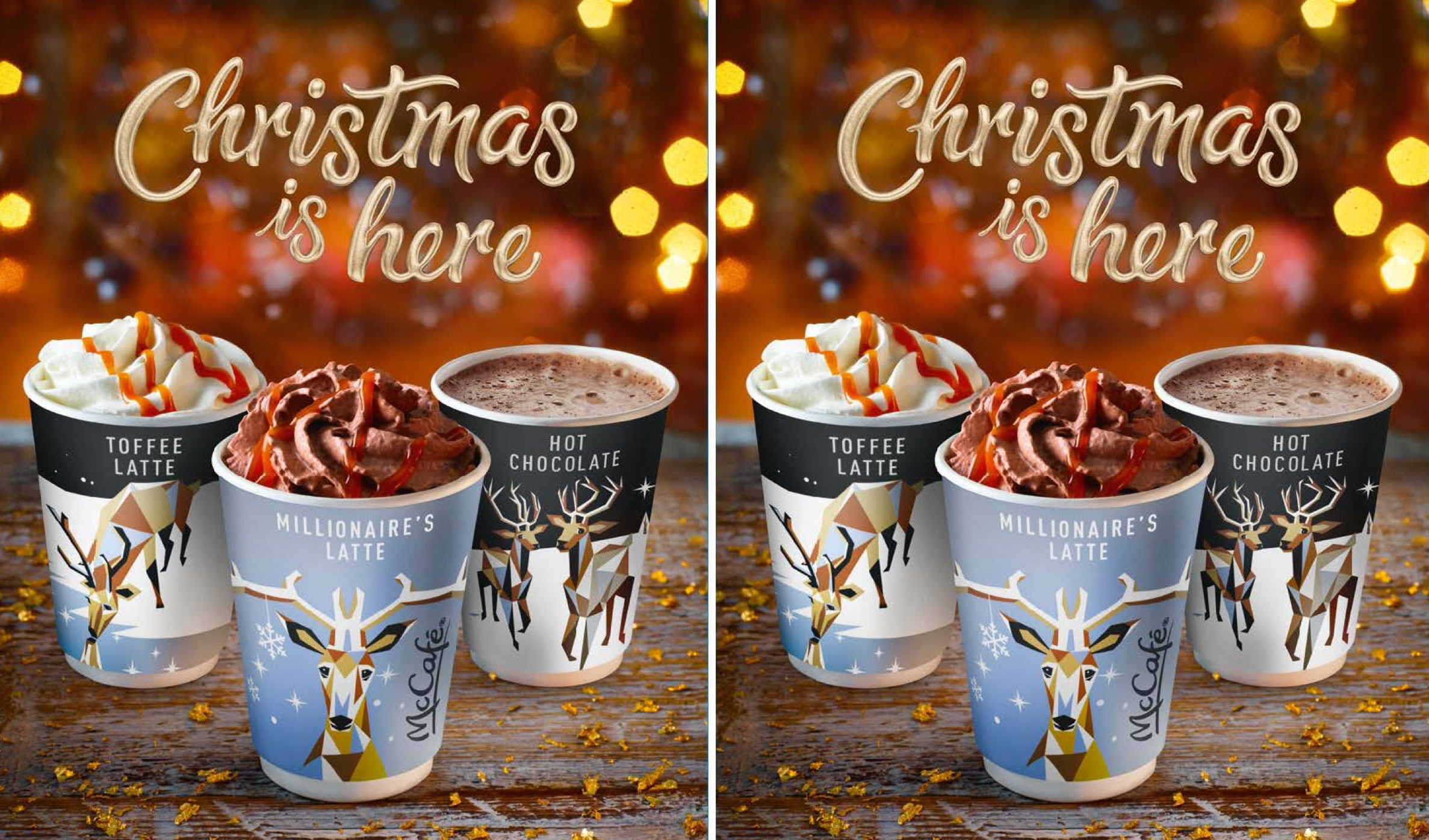 Mcdonalds Christmas Eve Hours.Mcdonald S 2018 Christmas Drinks In The Uk Look Absolutely