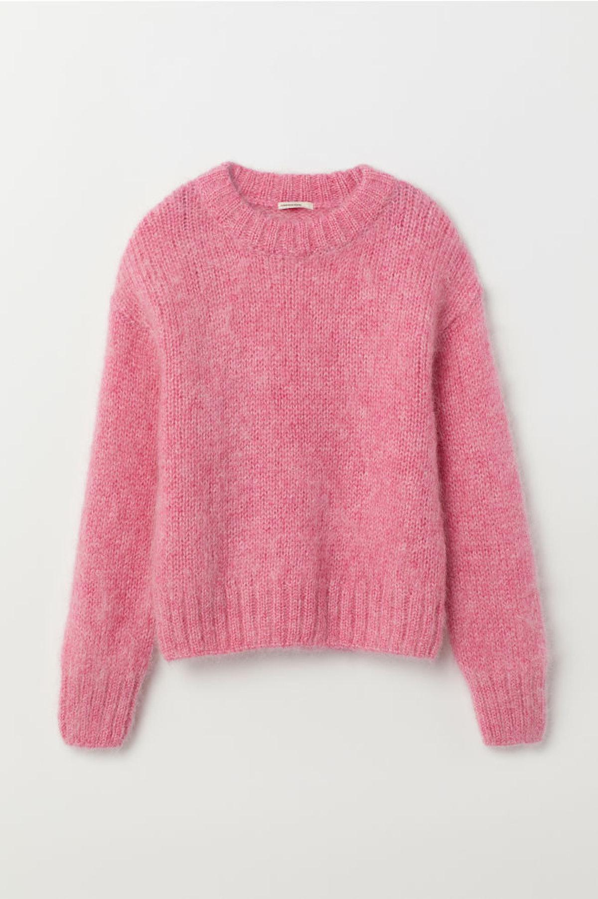 Knit Wool-blend Sweater