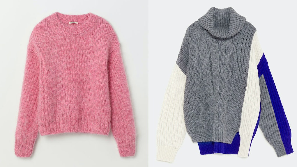 27c7f26c9de Winter 2018 Sweater Trends Will Make You Feel All Kinds Of Warm   Fuzzy