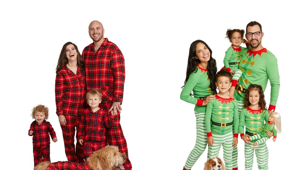 13c81bc55a Target s Family   Pet Holiday Pajamas Include Options For Your Whole Crew