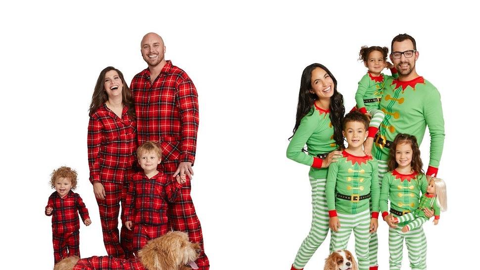Christmas Pajamas For Dogs.Target S Family Pet Holiday Pajamas Include Options For