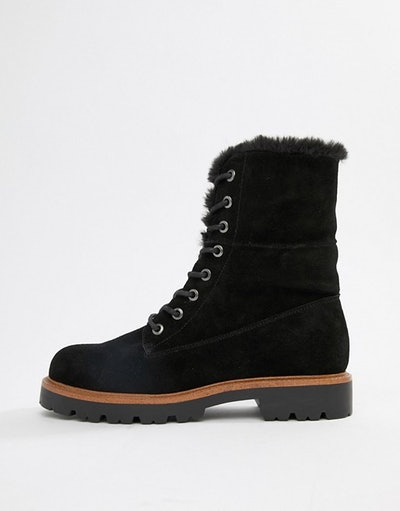 Apex Suede Hiker Lace Up Boots