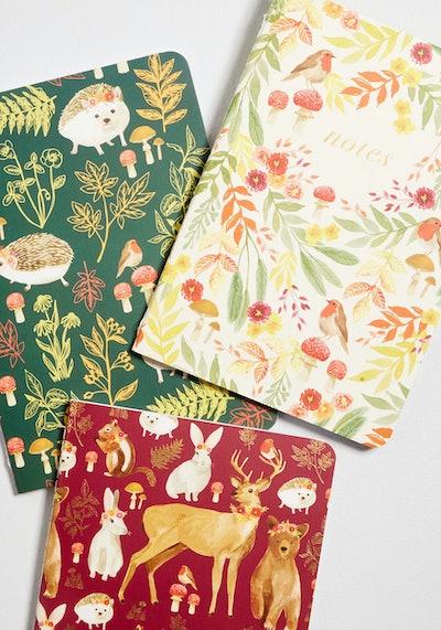 Woodland That I Love Notebook Set