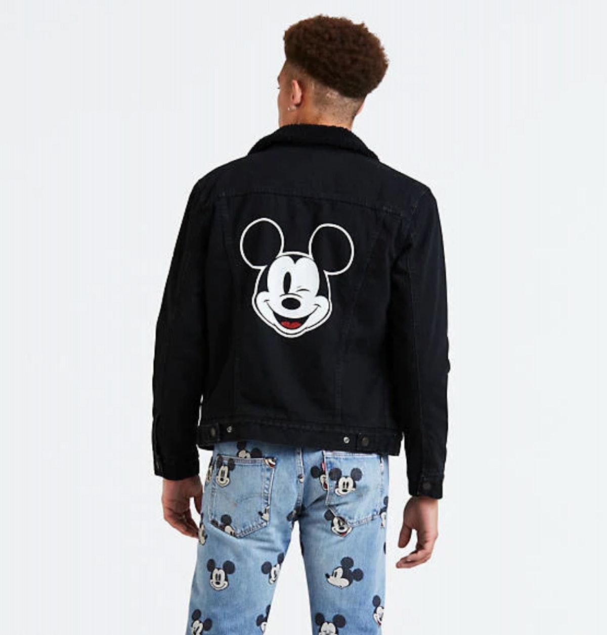 Levi's® X Disney Mickey Mouse Sherpa Trucker Jacket