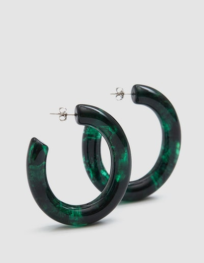 Lizzie Fortunato Rome Hoop Earrings