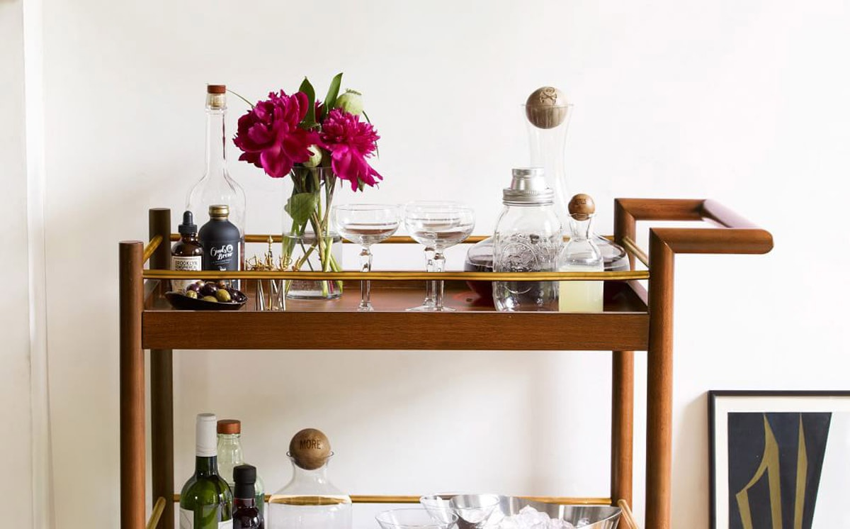 Bar Cart Essentials Every Mixologist Keeps In Stock