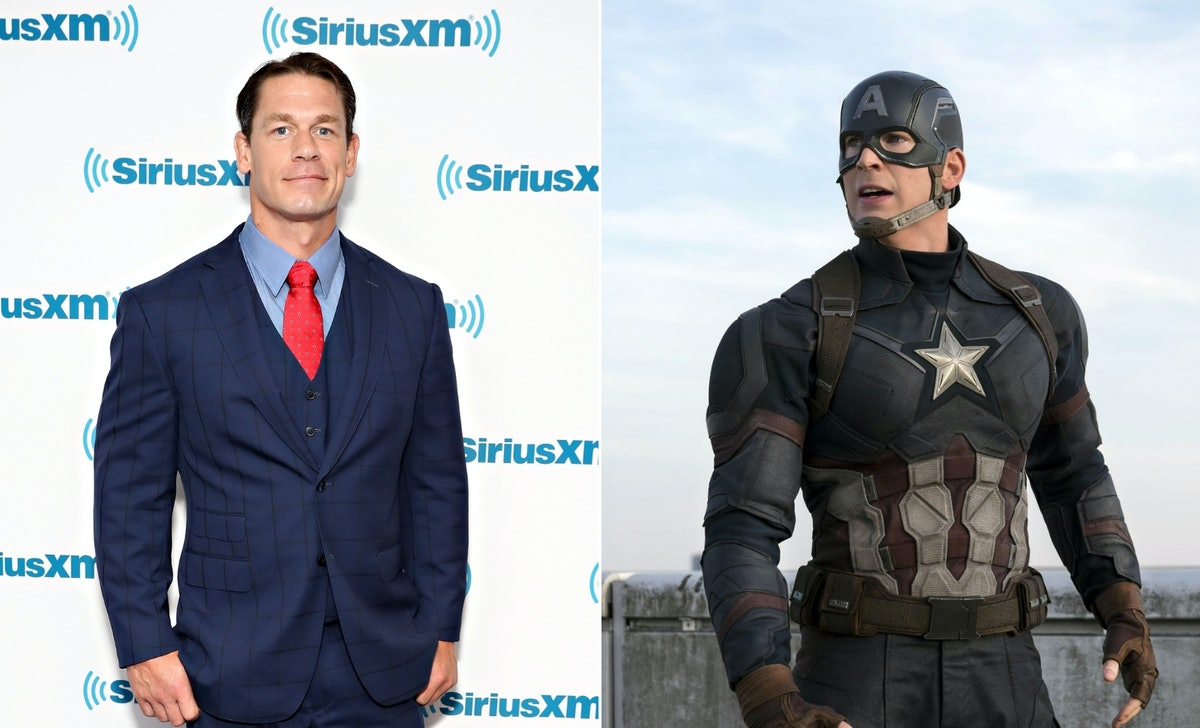 Will John Cena Become Captain America? His Latest Post Has 'Avengers' Fans Buzzing