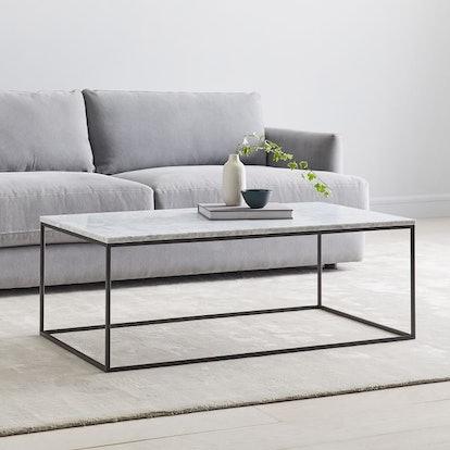 Streamline Coffee Table - Marble