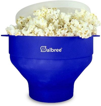 Salbree, Silicone Microwave Popcorn Popper
