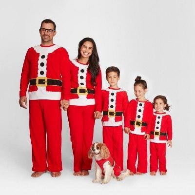 Holiday Santa Family Pajamas Collection