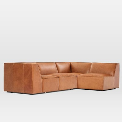 Sedona 2-Piece Leather Sectional