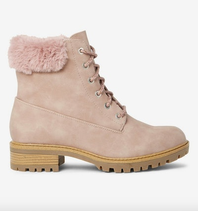 Blush Malmo Hiker Boots