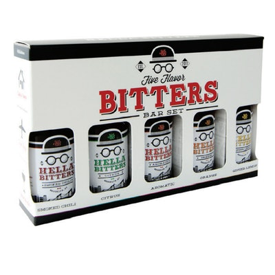 Hella Bitters 5-Flavor Bar Set