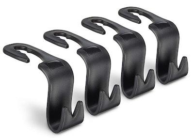 Juvale Back Seat Car Hooks