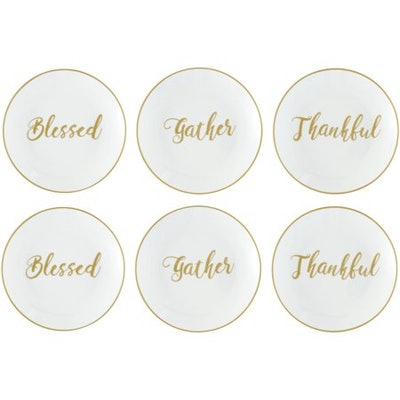 Better Homes & Gardens Sentimental Collection Appetizer Plates