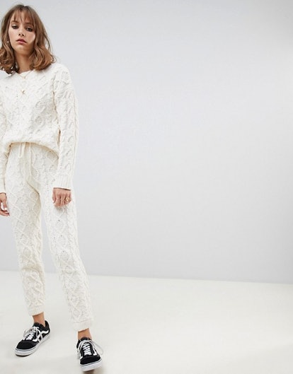 Wild Honey Cable Knit Pants