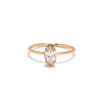 Bing Bang NYC Tiny Marquis Ring