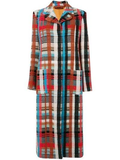 Long Knitted Cardi-Coat