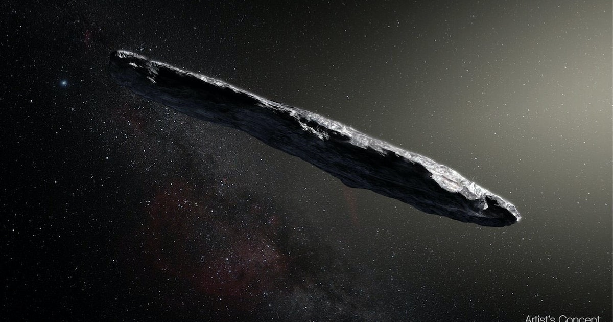 is the 39 oumuamua object an alien spacecraft two harvard. Black Bedroom Furniture Sets. Home Design Ideas