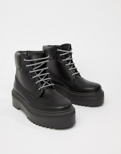Almighty Chunky Hiker Boots
