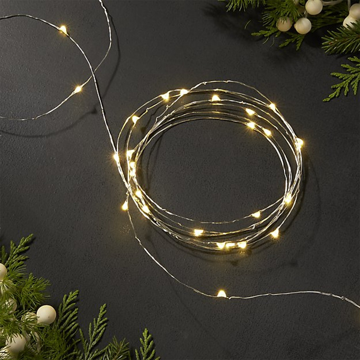 Twinkle Silver 30' String Lights
