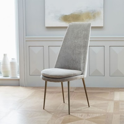 Finley High-Back Velvet Dining Chair
