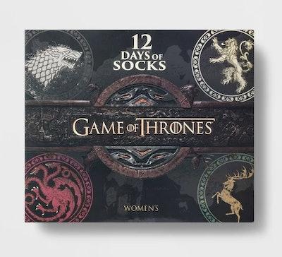 Women's Game of Thrones 12 Days of Socks
