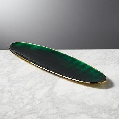 Surface Emerald Green Platter-Server
