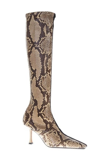 Céline Python Print Boots