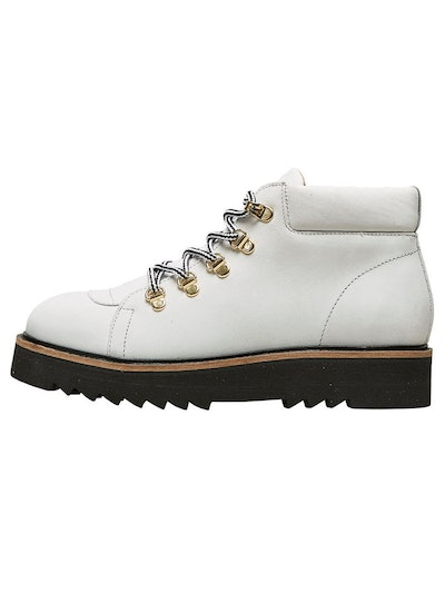 Leather Hiking Ankle Boots