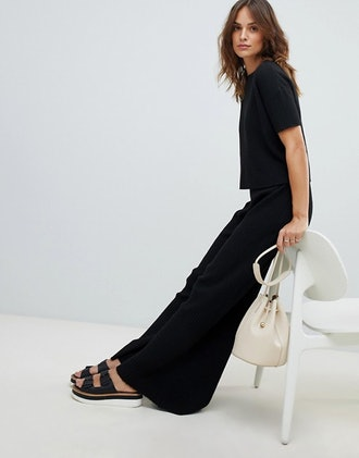 Micha Lounge Soft Knitted T-Shirt in Soft Rib