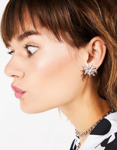 Bloomin' Bae Flower Splat Earrings