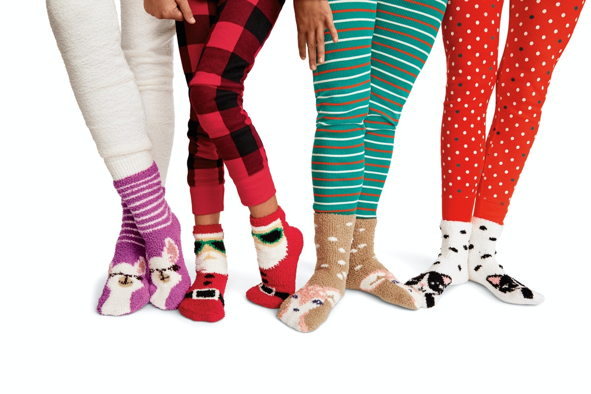 Old Navy's One Dolla Holla Cozy Socks Sale Will Give You The Happiest Feet