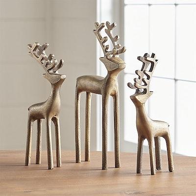 """8"""" Brass Reindeer"""