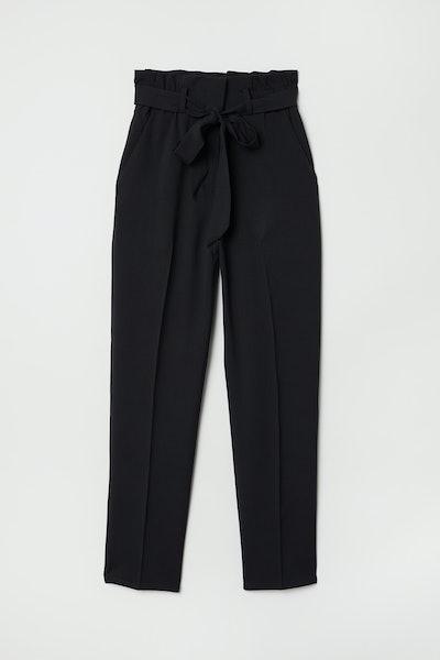Paper-bag Pants