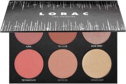 Lorac Shine Bright Color Source & Light Source Cheek Palette