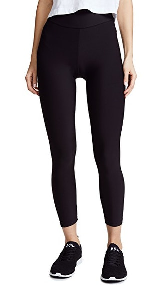 Fleece Lined Cropped Athletic Leggings  from Plush, available to shop on Shopbop.