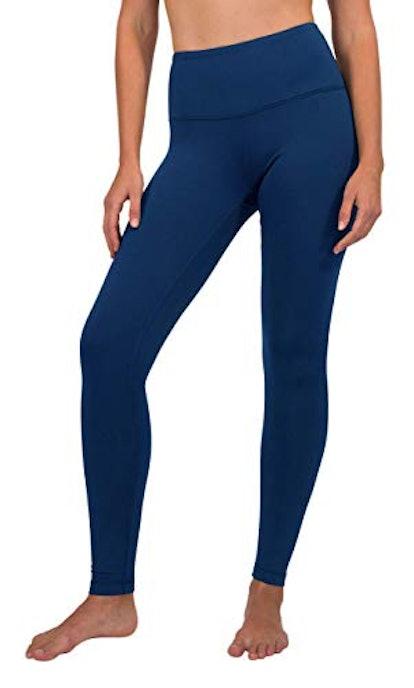 90 Degree By Reflex High Waist Tummy Control Fleece Lined Leggings Women