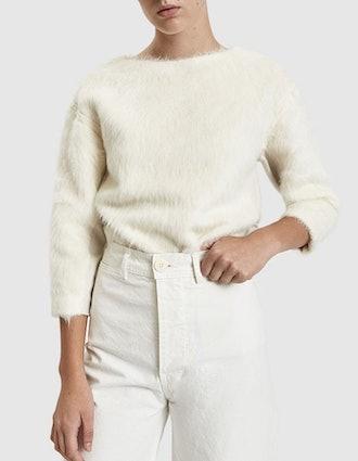 Hairy Long Sleeve Sweater