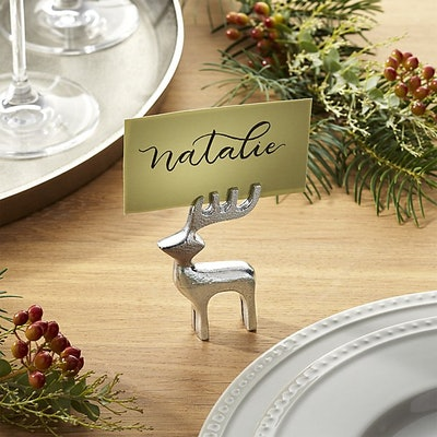 Reindeer Place Card Holder