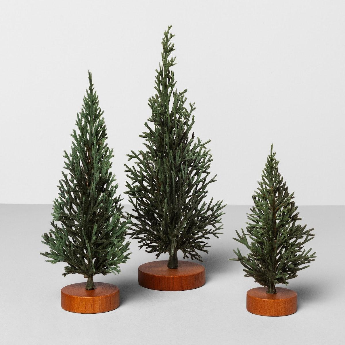 Mini Trees Set of Three