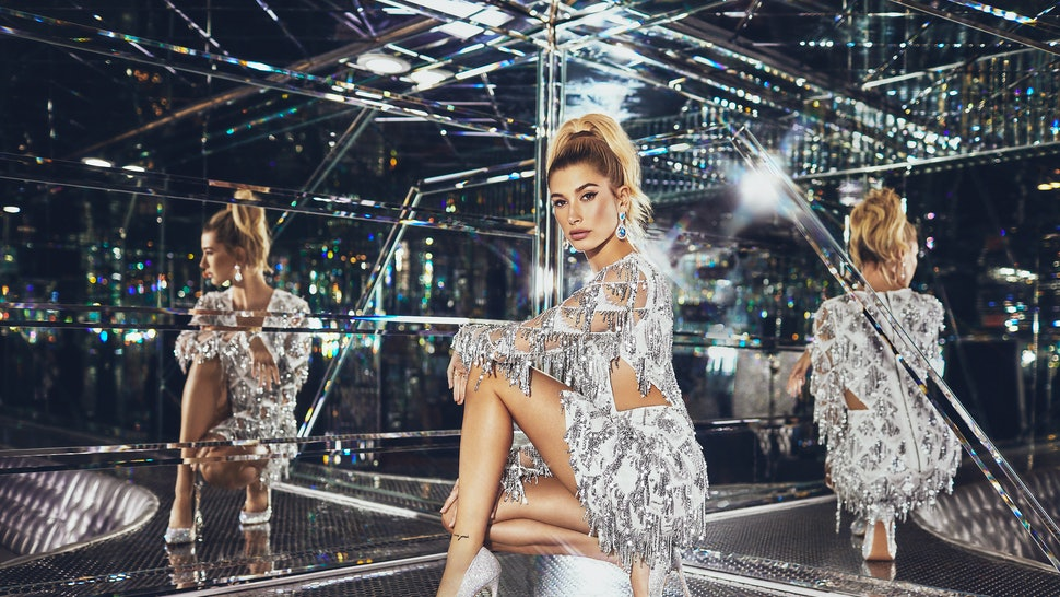 52c62a0302 What s In Hailey Baldwin s PrettyLittleThing Collection  Your Festive  Outfits Will Be Sorted