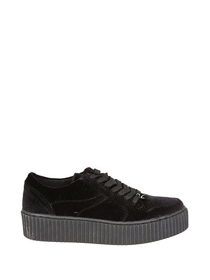 Windsor Smith Oracle Velvet Sneakers