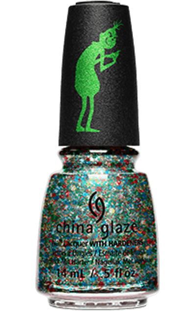 The Grinch Collection Nail Lacquer in Resting Grinch Face