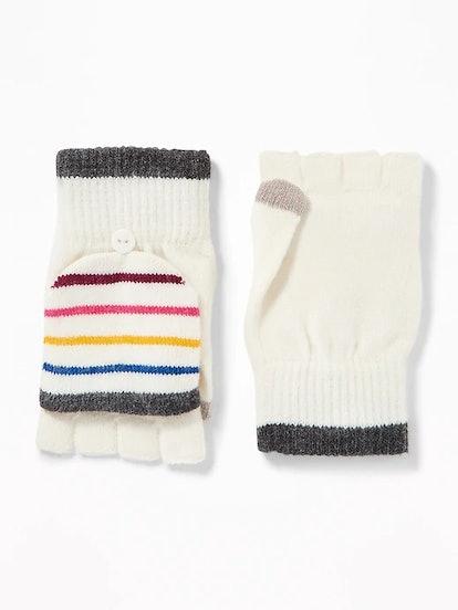Convertible Flip-Top Gloves for Women
