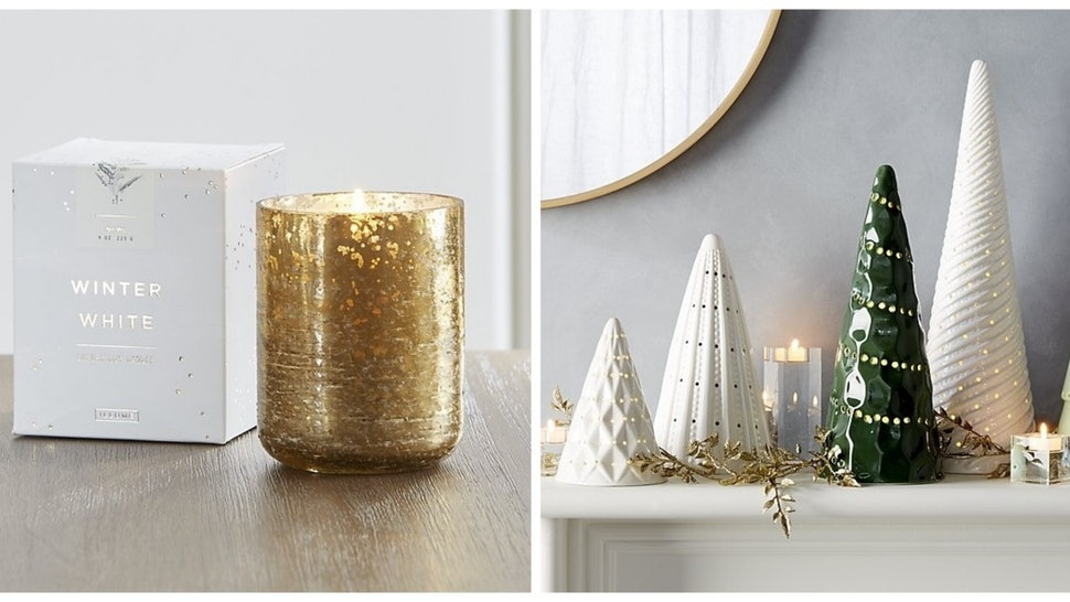 Christmas Crate And Barrel.Crate Barrel S 2018 Holiday Decorations Are The Epitome Of