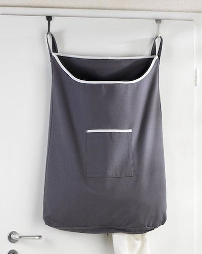 The Fine Living Company Space Saving Hanging Laundry Hamper Bag