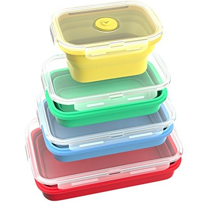 Vremni Collapsible Food Storage Containers (4 pack)