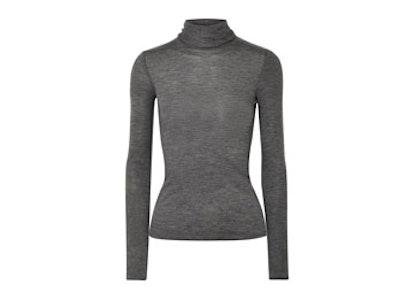 Margit Cashmere-Blend Turtleneck Sweater