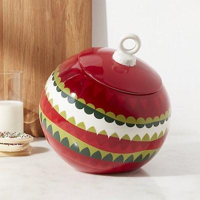 Ornament Garland Cookie Jar